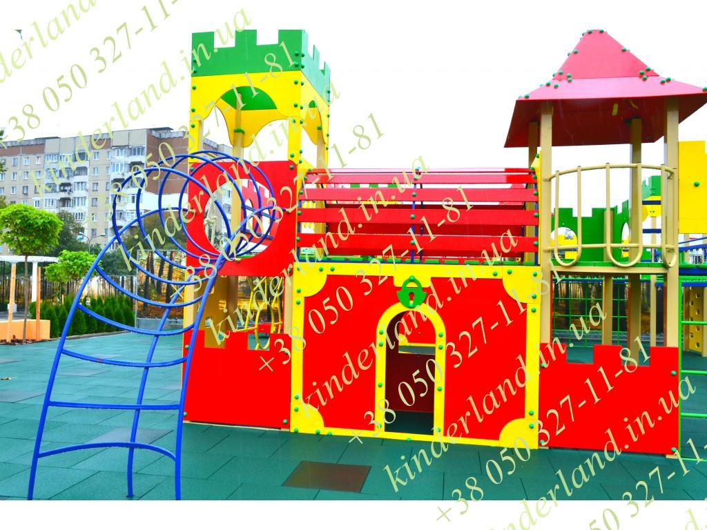 детские горки и другой оборудование для площадок