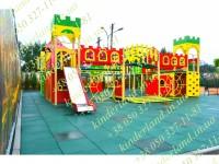 В городе Львов установлена очередная детская игровая площадка от производителя KinderLand!