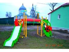 """Детская площадка """"Лужайка"""""""