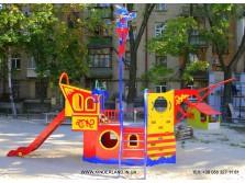 """Детская площадка """"Капитан Морган"""" - 2014 г."""