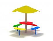 Детский столик с грибочком