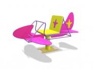 Самолет Барби ( на пружине)