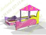 Песочный дворик Барби - 1.03