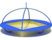"Песочница ""Летающая тарелка"""