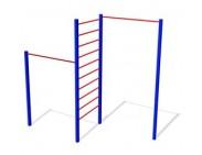 Турник угловой с лестницей