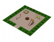 Детская мини площадка для двора -2
