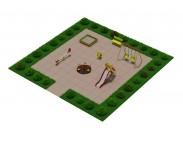 Детская мини площадка для двора -3