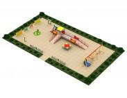 Типовая площадка №1 для детей с ОФВ