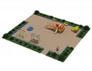 Типовий майданчик №3 для дитячого садка