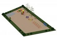 Типовий майданчик №4 для дитячого садка