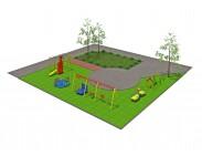 Типовая площадка №5 для детей с ОФВ