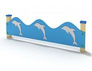 """Ограждение""""Дельфины""""-2,2м"""