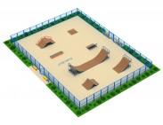 Площадка для скейтбординга №1
