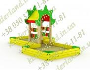 Пісочний дворик з вежею