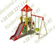 """Ігровий комплекс """"Фруктовий сад -1.04"""", Нг = 1,2 м"""