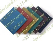 Резиновая плитка (500x500 мм, 30 мм) 1м²