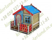 Ігровий будиночок з двориком