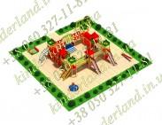 Типовая площадка «Замок Айвенго»