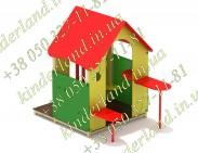Игровой домик с балконом