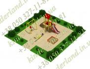 Детская дворовая мини площадка
