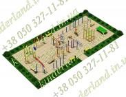 Спортивная типовая площадка №3