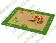 Типовая площадка №7 для детей с ОФВ
