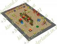 Типовая площадка №13 для детей с ОФВ